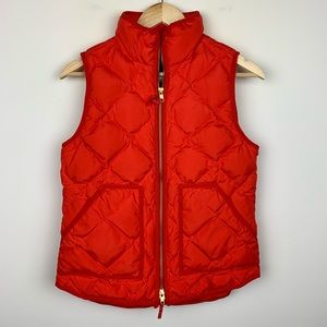 J Crew Quilted Puffer Vest Size XS